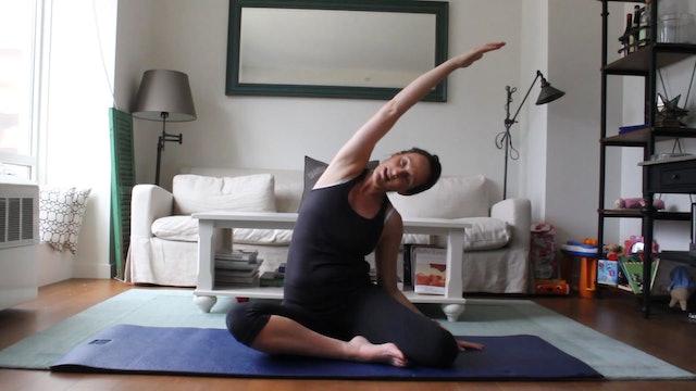 6 Mins - Week 1 - Stretch & Mobilize (Postnatal)