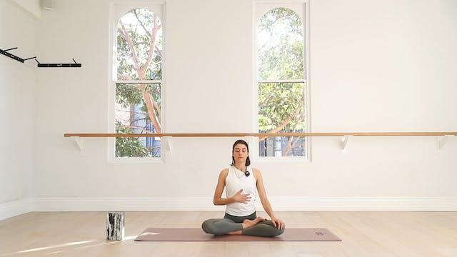 NEW! 11 Mins - Mindfulness - No Props...