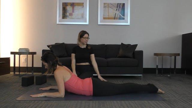 12 Mins - Back -  No Props (Postnatal)