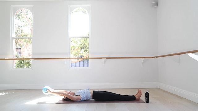 11 Mins - Abs - Pilates Ball (Strong Mama)