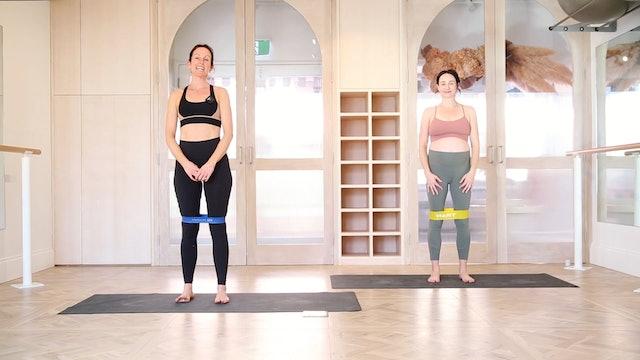 9 Mins - Pelvic Pain - Pilates Band (Prenatal)