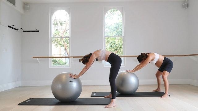 7 Mins - Full Body - Physio Ball (Prenatal)