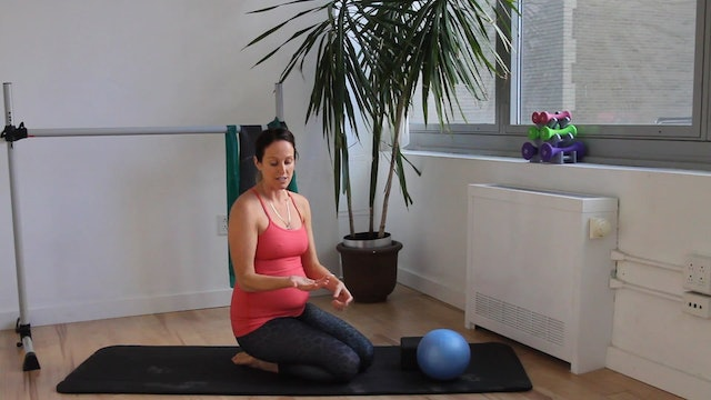 6 Mins - Pelvic Floor Series - Small Ball & Block (Prenatal)