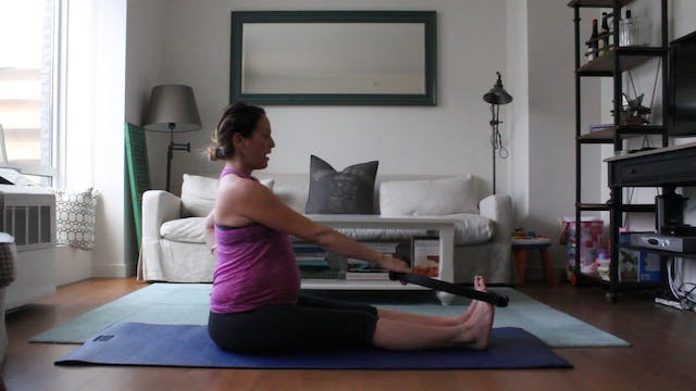 11 Mins - Stretch - Ring or Theraband...