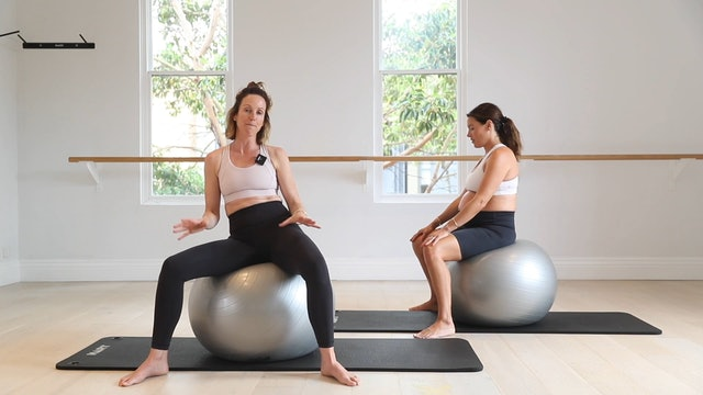 12 Mins - Core - Physio Ball (Prenatal)