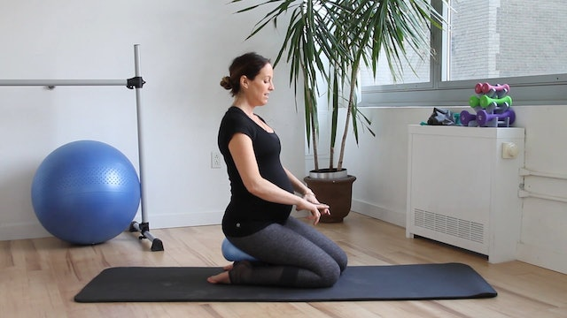 4 Mins - Pelvic Floor Series - Small Ball & Block (Prenatal)