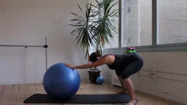 9 Mins - Labor Preparation Breath - Physio Ball (Prenatal)