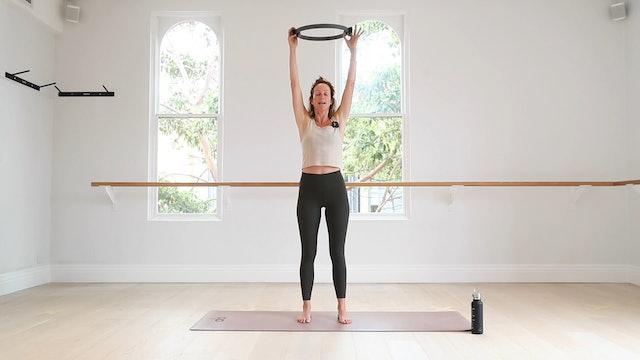 10 Mins - Glutes & Legs - Pilates Ring (Prenatal)