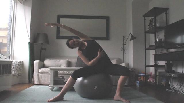 4 Mins - Week 1 - Stretch & Mobilize (Postnatal)