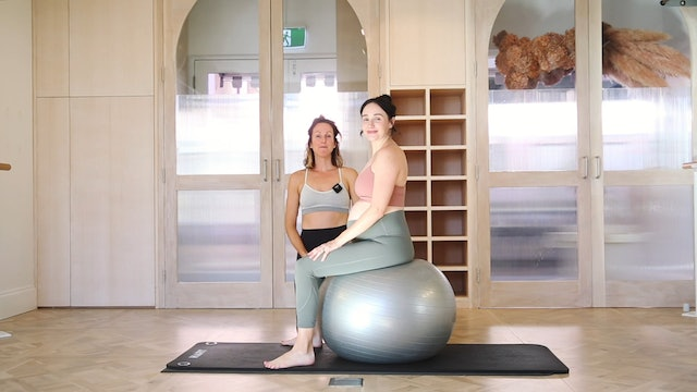 How do you train your core during pregnancy.