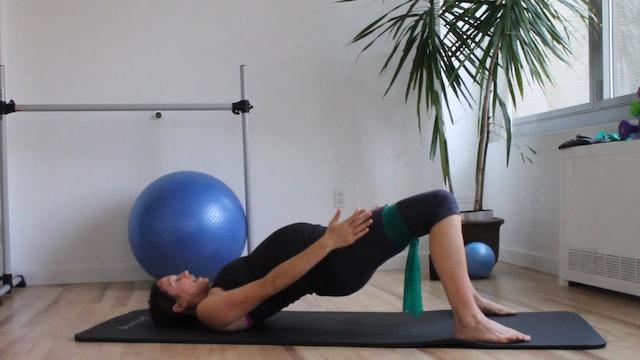 5 Mins - Butt - Theraband - SI Joint Pain (Prenatal)