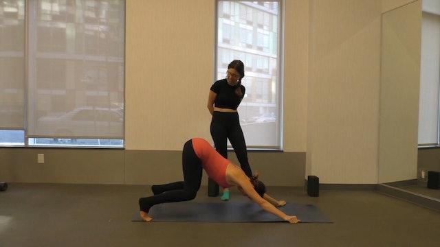 18 Mins - Full Body - Yoga Flow - Blocks (Postnatal)