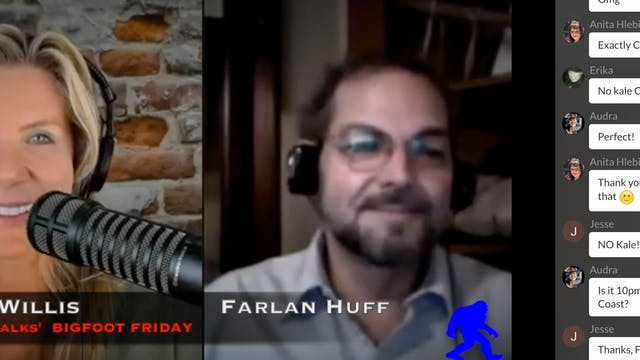 Bigfoot Friday: Farlan Huff's Glyphs!