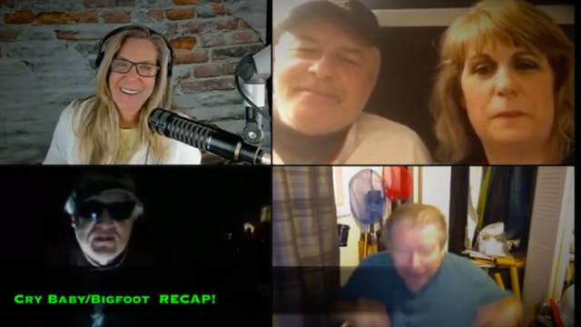 CRY BABY/BIGFOOT RECAP! Live Studio
