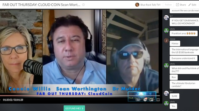Far Out Thursday: Sean Worthington with CLOUD COIN