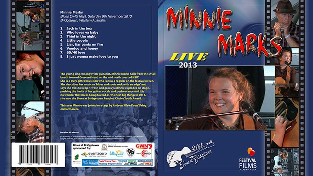 Minnie Marks 2013