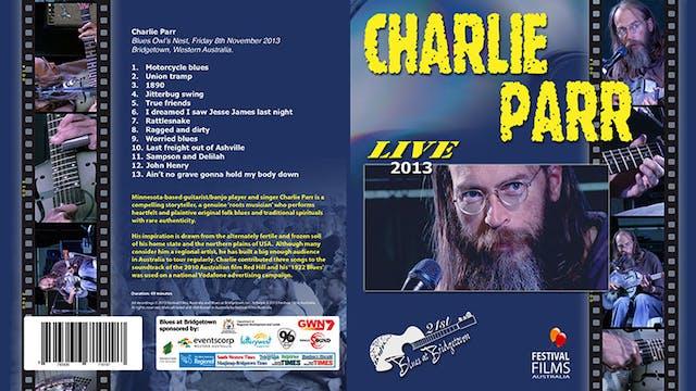 Charlie Parr 2013