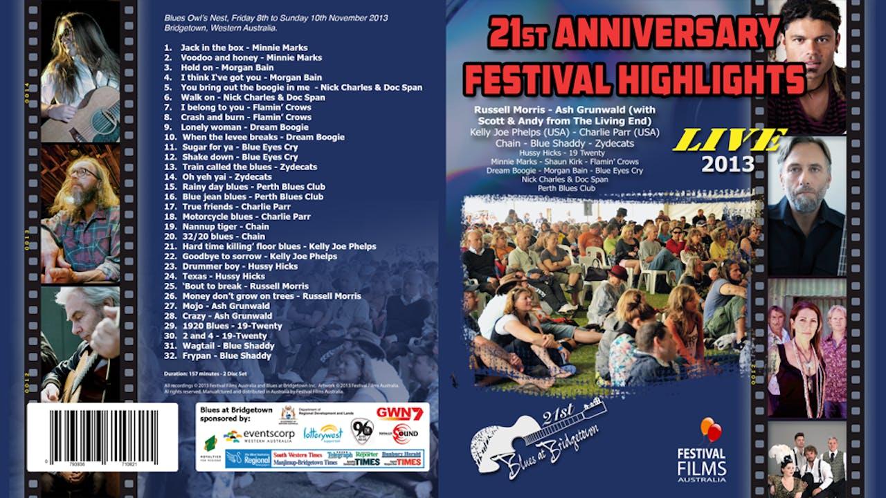 Blues at Bridgetown 2013 Highlights