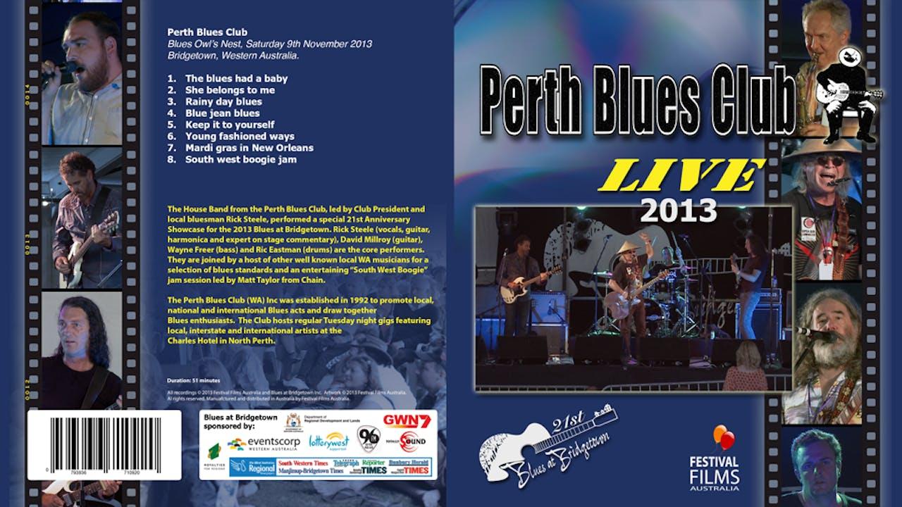 Perth Blues Club 2013