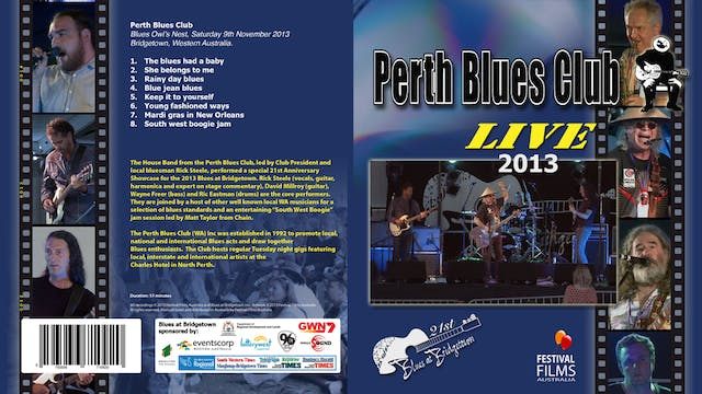 Perth Blues Club - 2013