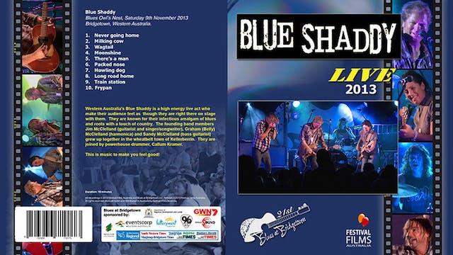 Blue Shaddy - 2013