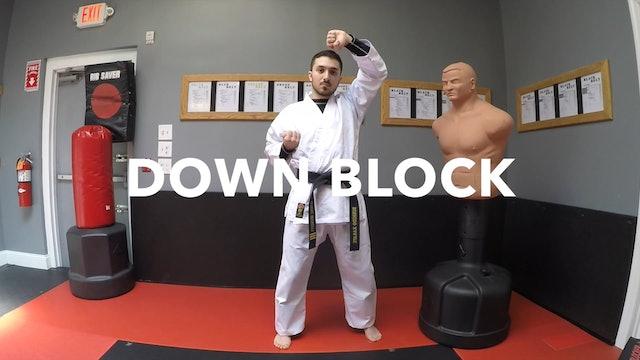 2-White Belt Blocks