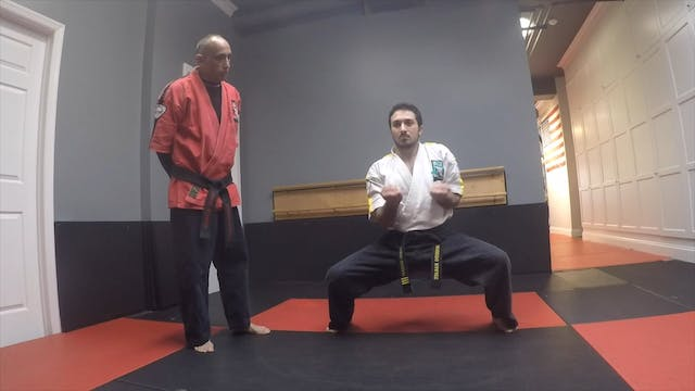 32-Red Belt Blocks and Strikes