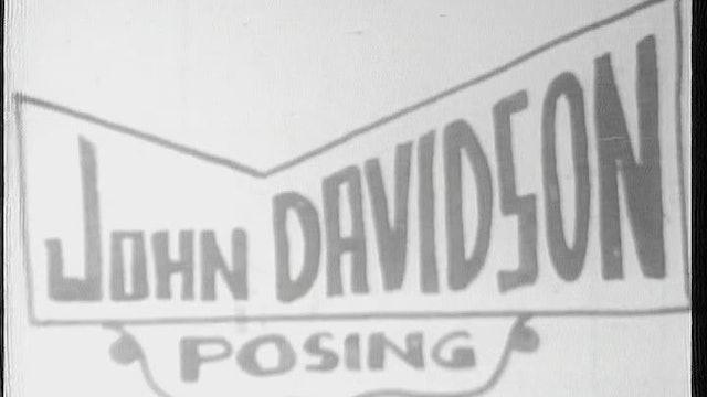 John Davidson Posing