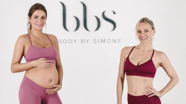 Prenatal Workout DVD : BBS x Millie Mackintosh