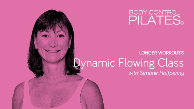 Longer Workout: Dynamic Flowing Class with Simone Halfpenny