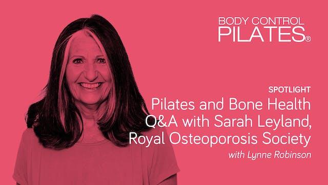 Spotlight on: Pilates and Bone Health...