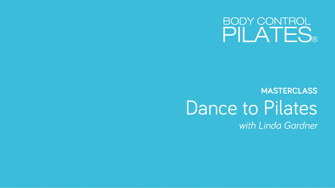Masterclass Dance To Pilates Series Body Control Central Mk 6367