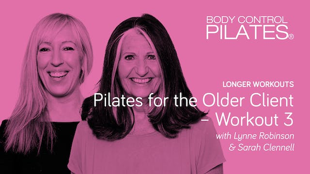 Longer Workout: Pilates for the Older...