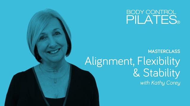 Masterclass: Alignment, Flexibility a...