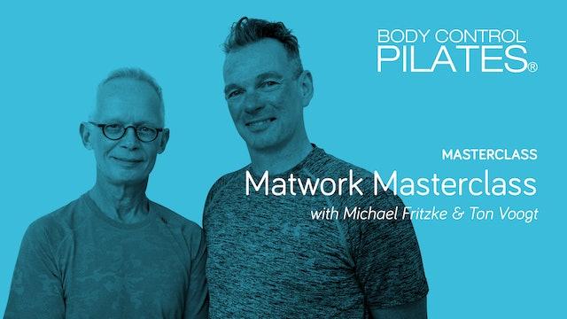 Masterclass: Matwork Masterclass with Michael Fritzke & Ton Voogt