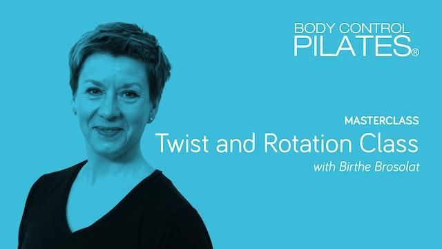 Masterclass: Twist and Rotation Class