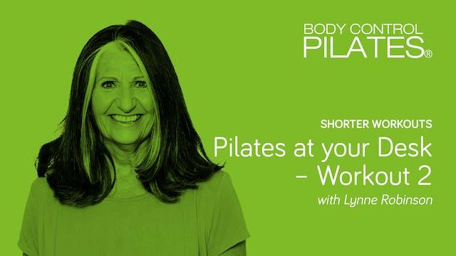 Short Workout: Pilates at your Desk -...