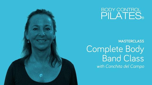 Masterclass: Complete Body Band Class with Conchita del Campo
