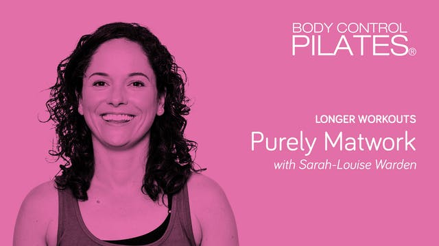 Longer Workout: Purely Matwork with S...