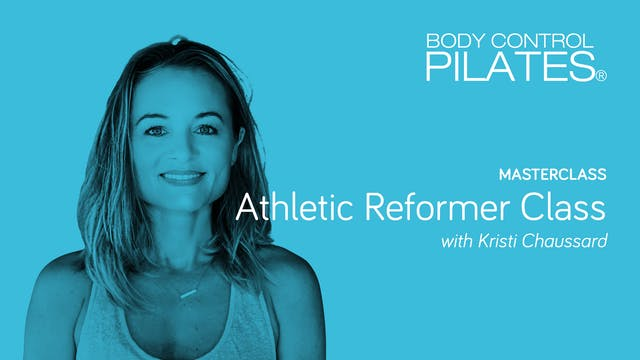 Masterclass: Athletic Reformer Class ...