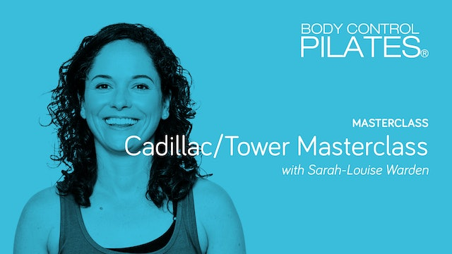 Cadillac/Tower Masterclass with Sarah-Louise Warden