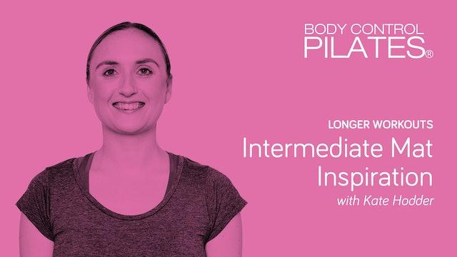 Longer Workout: Intermediate Mat Inspiration with Kate Hodder