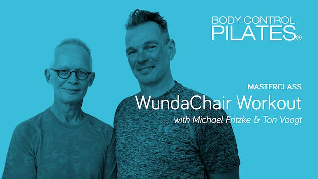 Masterclass: Wunda Chair Workout with...