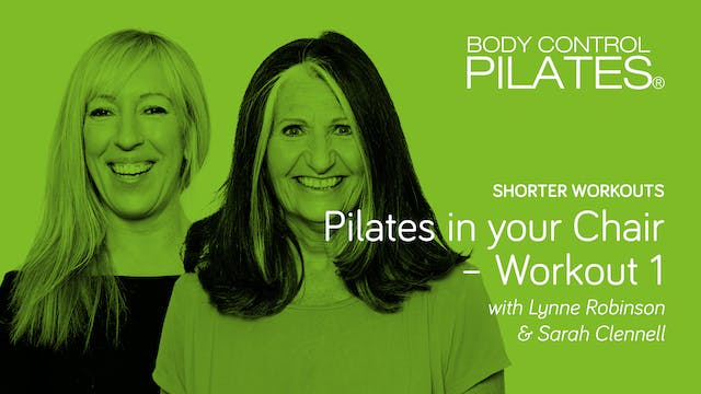 Shorter Workout: Pilates in your Chai...