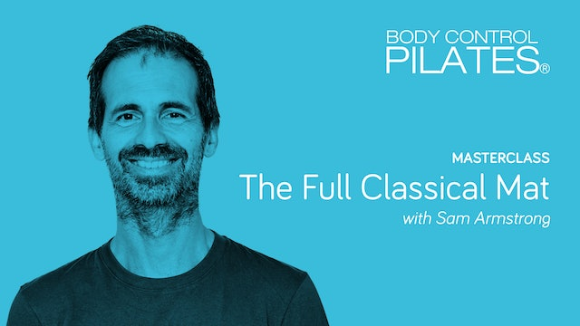 Masterclass: The Full Classical Mat with Sam Armstrong