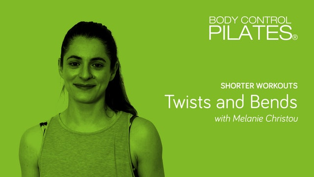 Shorter Workouts: Twists and Bends