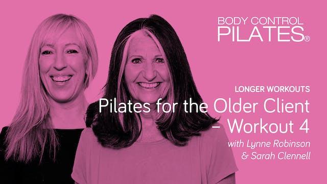 Longer Workout: Pilates for the Older...