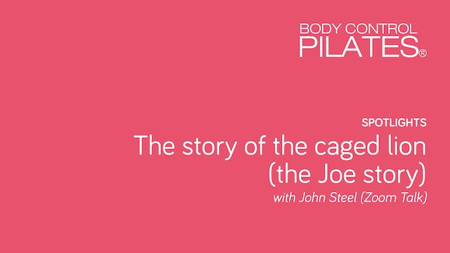 Spotlight on… The Joe Story with John Steel (as told in 'The Caged Lion')
