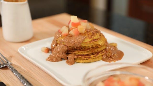 Clean Cuisine: Protein Pumpkin Pancakes