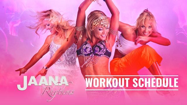 Jaana Rhythms Schedule